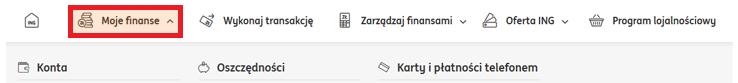 Jak wydrukować potwierdzenie przelewu ING Bank Śląski