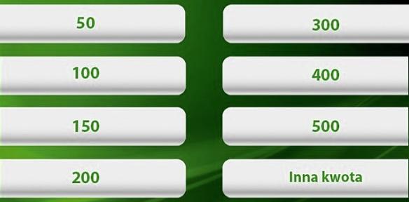 Jak wypłacić pieniądze z bankomatu - wybierz kwotę wypłaty